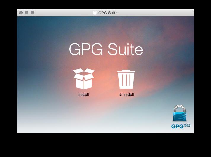 GPG Suite DMG